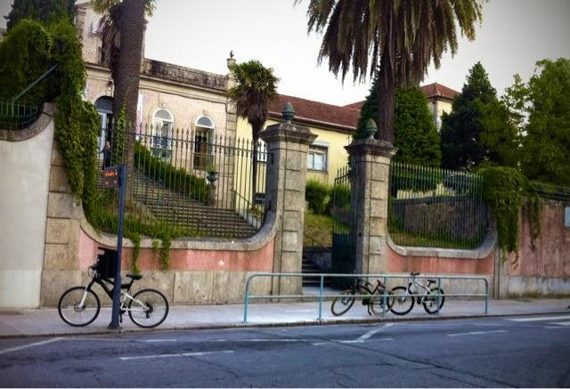 Bicicletas na escola