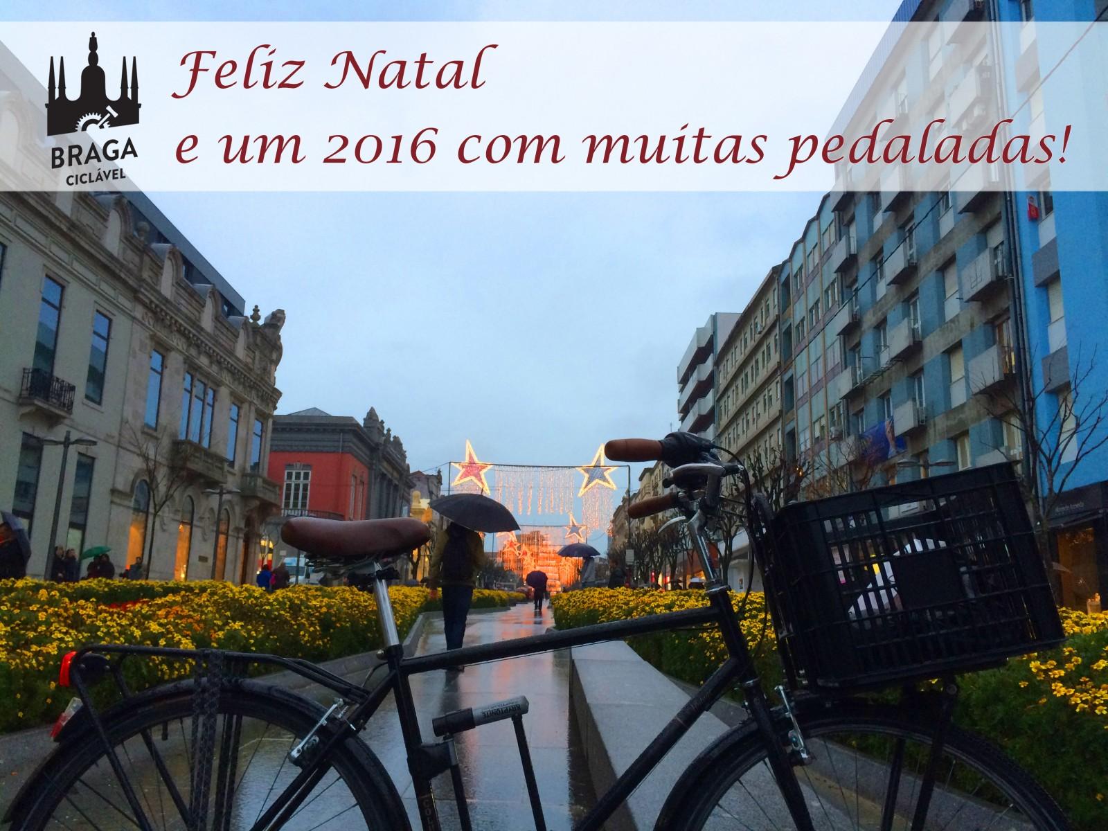 Feliz Natal e um 2016 com muitas pedaladas!