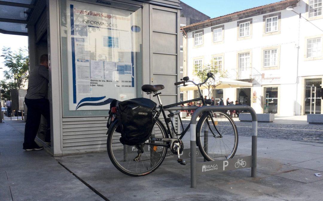 Como estacionar a bicicleta de forma segura