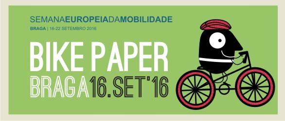 Bike Paper no centro de Braga