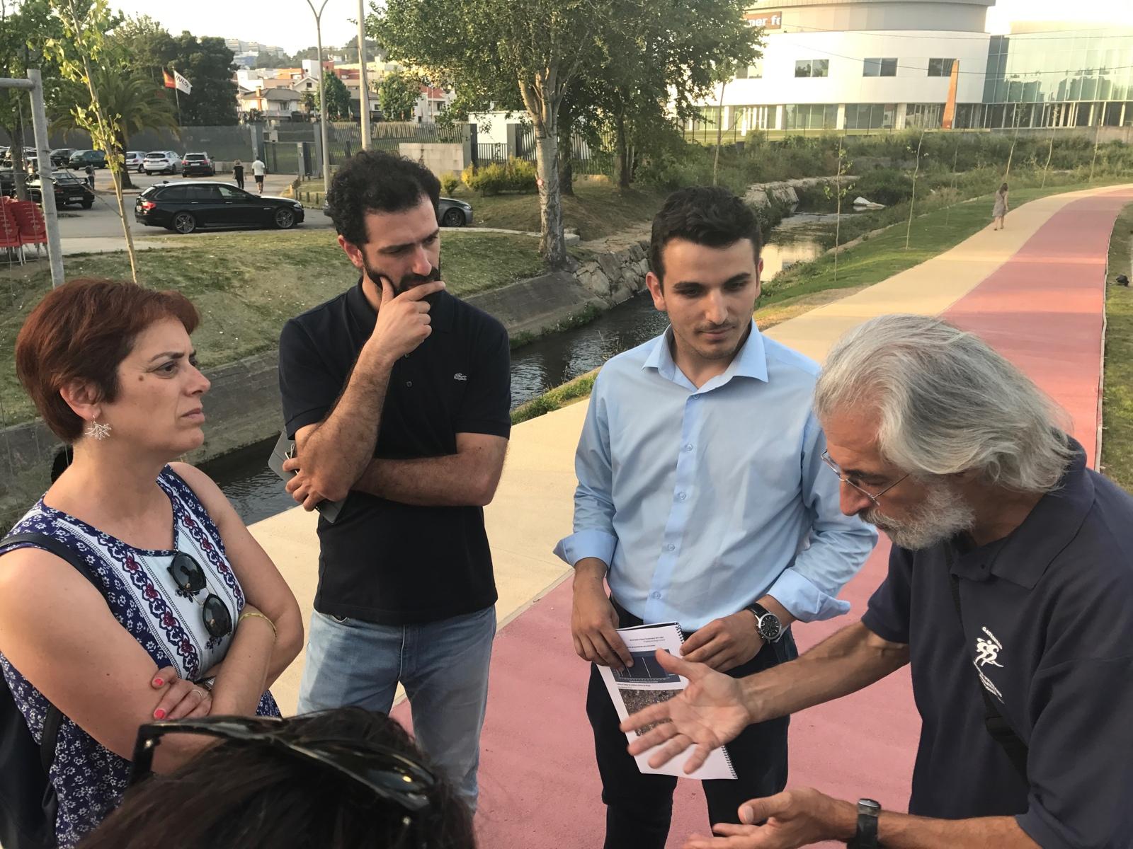 Braga Ciclável reune com Paula Nogueira, candidata do Bloco de Esquerda