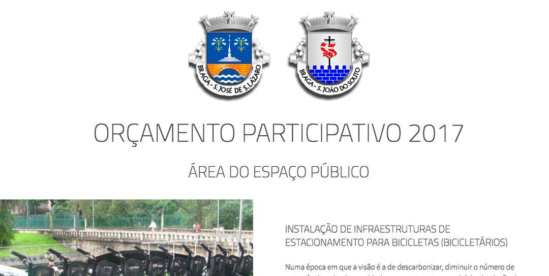 Estacionamentos para Bicicletas venceram Orçamento Participativo em S. Lázaro/S.João do Souto