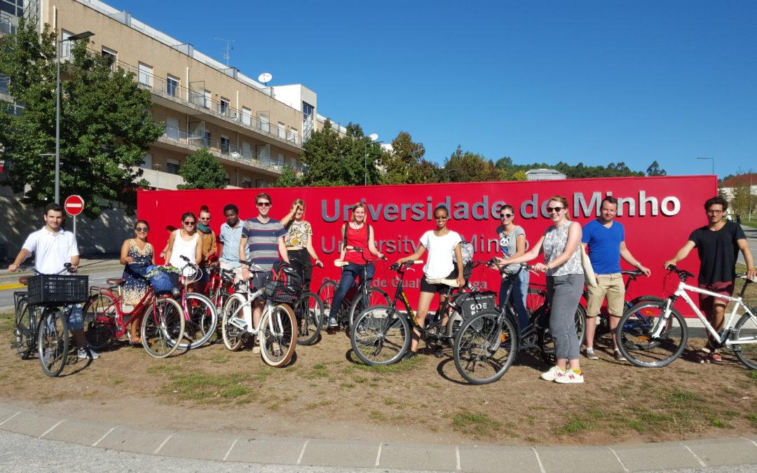 Estudantes da Wageningen University & Research apresentam relatório sobre mobilidade ciclável