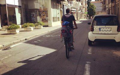 A bicicleta não é um brinquedo