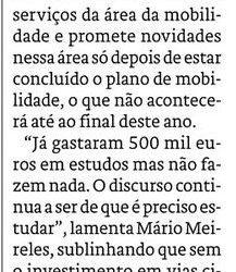 """""""Braga Ciclável pede ação na construção de ciclovias"""""""