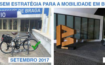 Carta Aberta – Bicicletário Fórum Braga