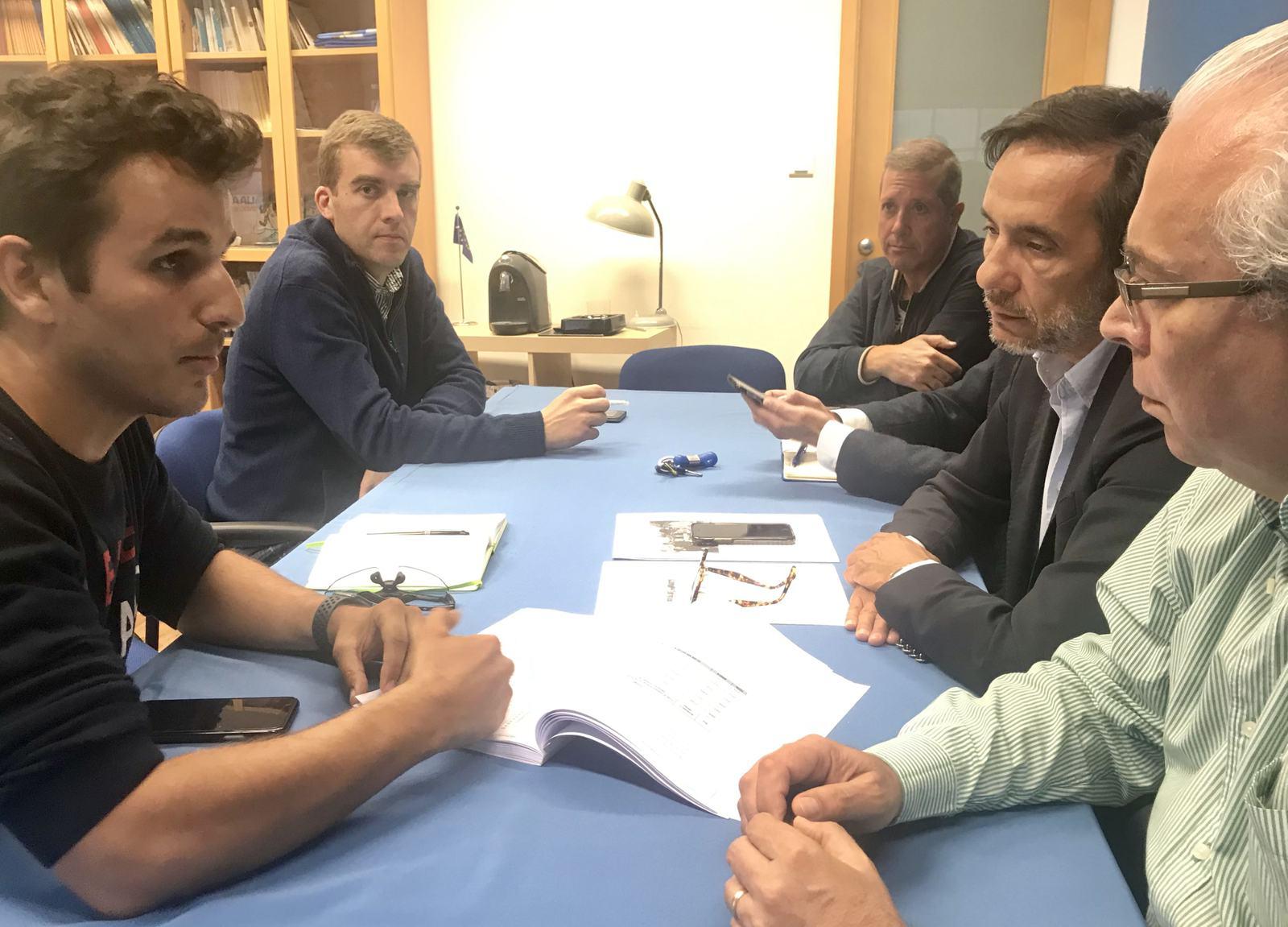 Braga Ciclável reune com concelhia CDS-PP Braga - João Medeiros, Altino Bessa, Luís Pedroso
