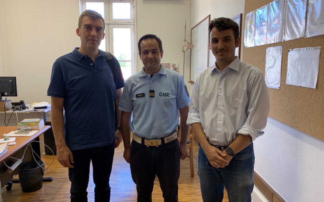 Braga Ciclável reuniu com GNR