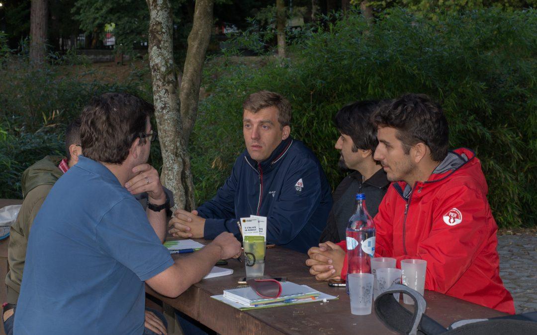 Braga Ciclável reuniu com os candidatos do PEV, na Lista da CDU, pelo círculo de Braga