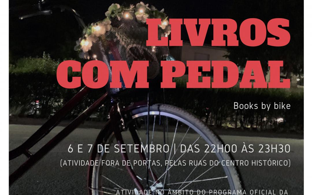 Livros com pedal – Books by bike