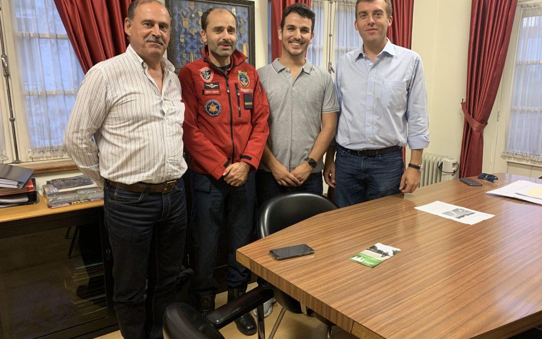 Braga Ciclável reuniu com a Real Associação Humanitária do Bombeiros Voluntários de Braga