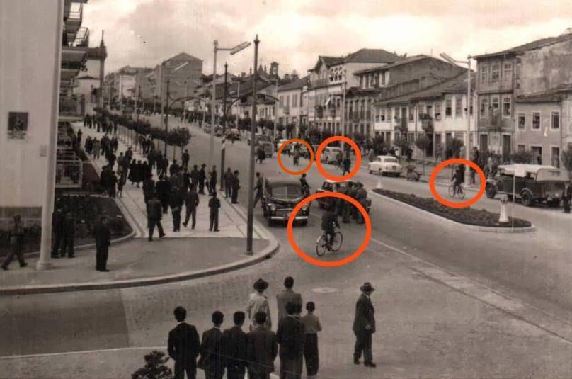 Desde 1920 que existe uma rede de coexistência entre Bicicletas e Carros em Braga