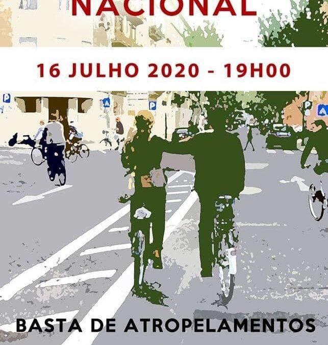 Manifestação Nacional – Basta de Atropelamentos